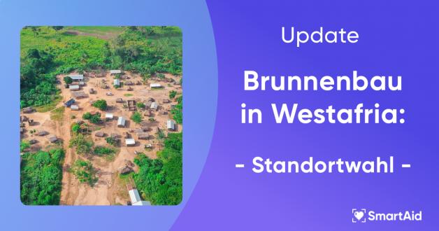 Brunnenbau in Westafrika – Standortwahl getroffen