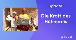Ein herzliches Dankeschön von ärmsten Familien aus Burkina Faso und Mali